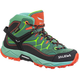 SALEWA Alp Trainer GTX Mid Shoes Kids, myrtle/tender shot